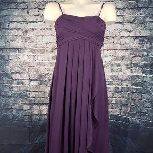 David's Bridal Dresses - David's Bridal Plum Dress, Girls 14
